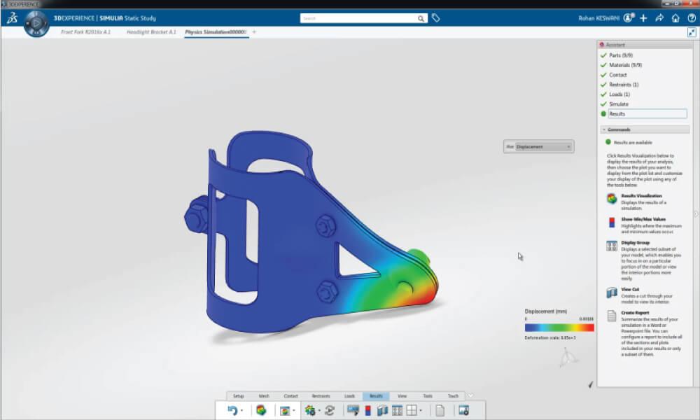 Simulia 3DEXPERIENCE Structural Designer