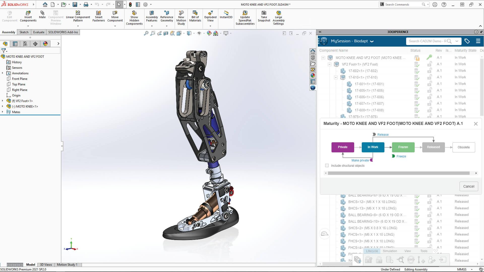 3DEXPERIENCE SOLIDWORKS Connection