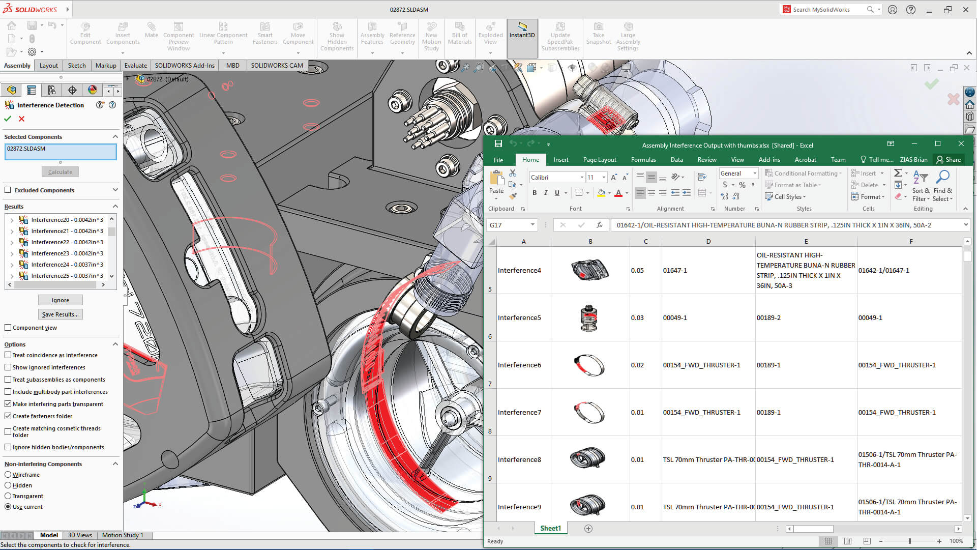 SOLIDWORKS interface voor Education
