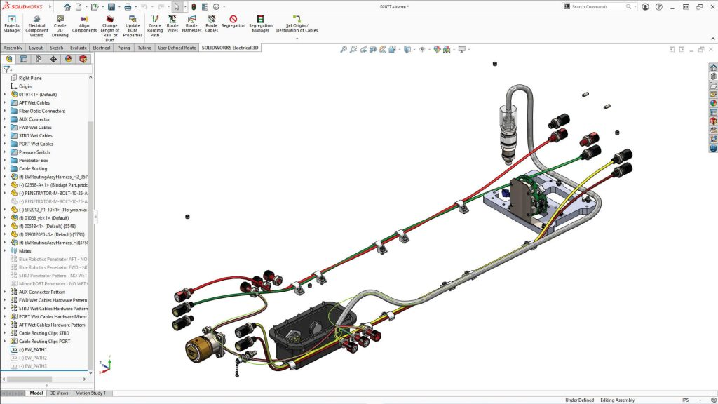 SOLIDWORKS Electrical 3D Viewer