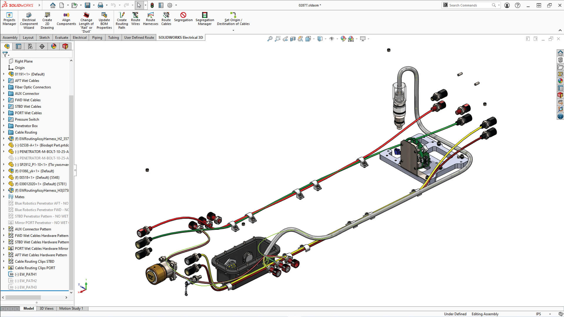 SOLIDWORKS Electrical professional 3D