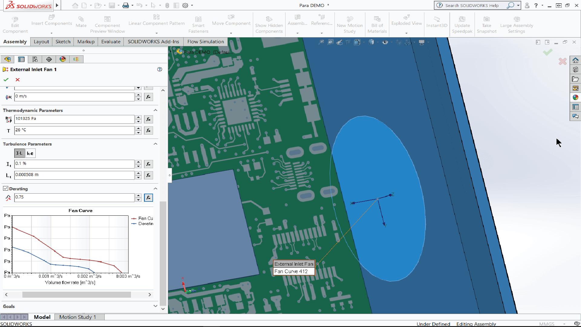 Ventilatie Flow Simulation