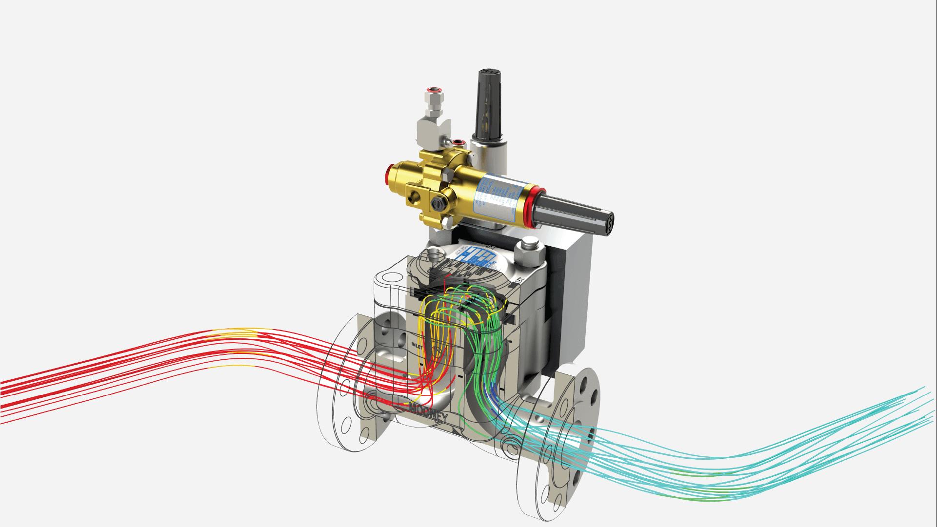 Flow Simulation Render