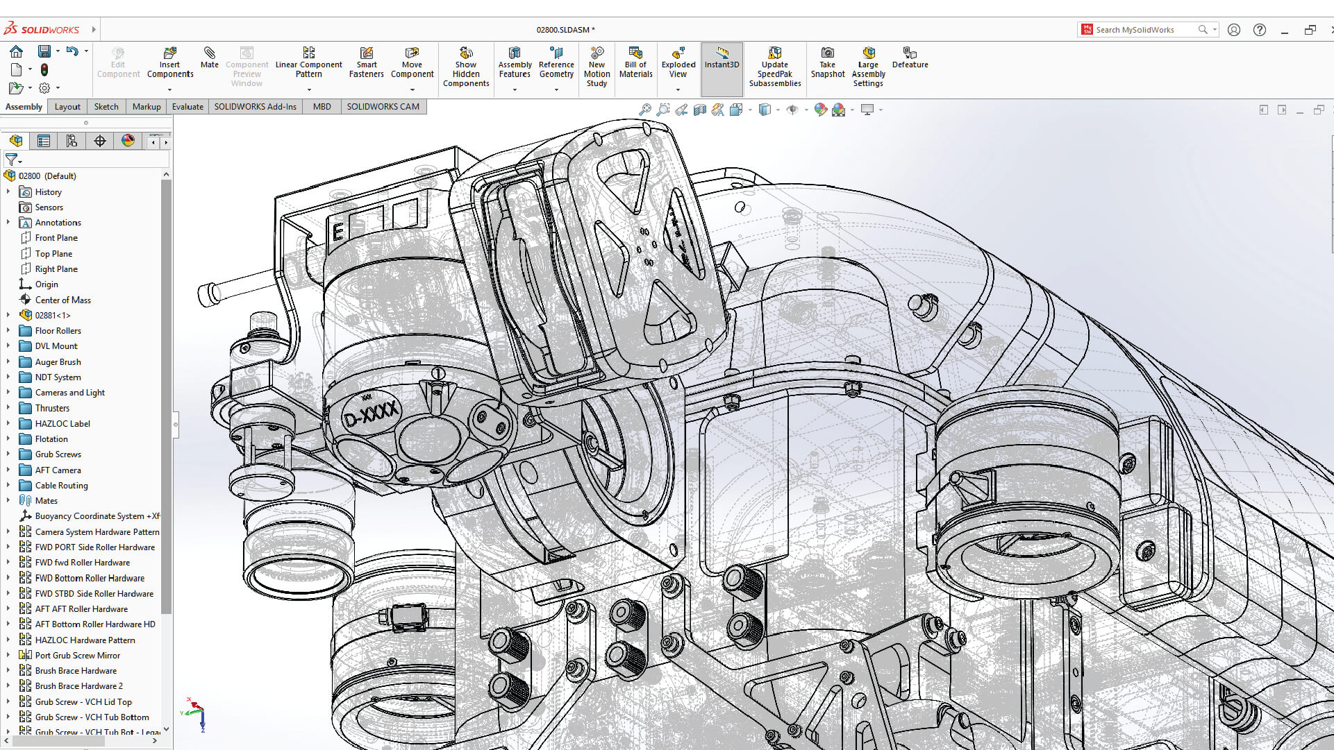 SOLIDWORKS Display mode