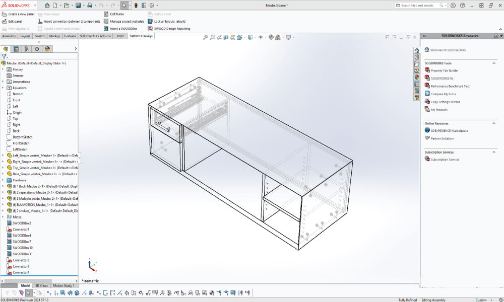 SolidCAM Interface