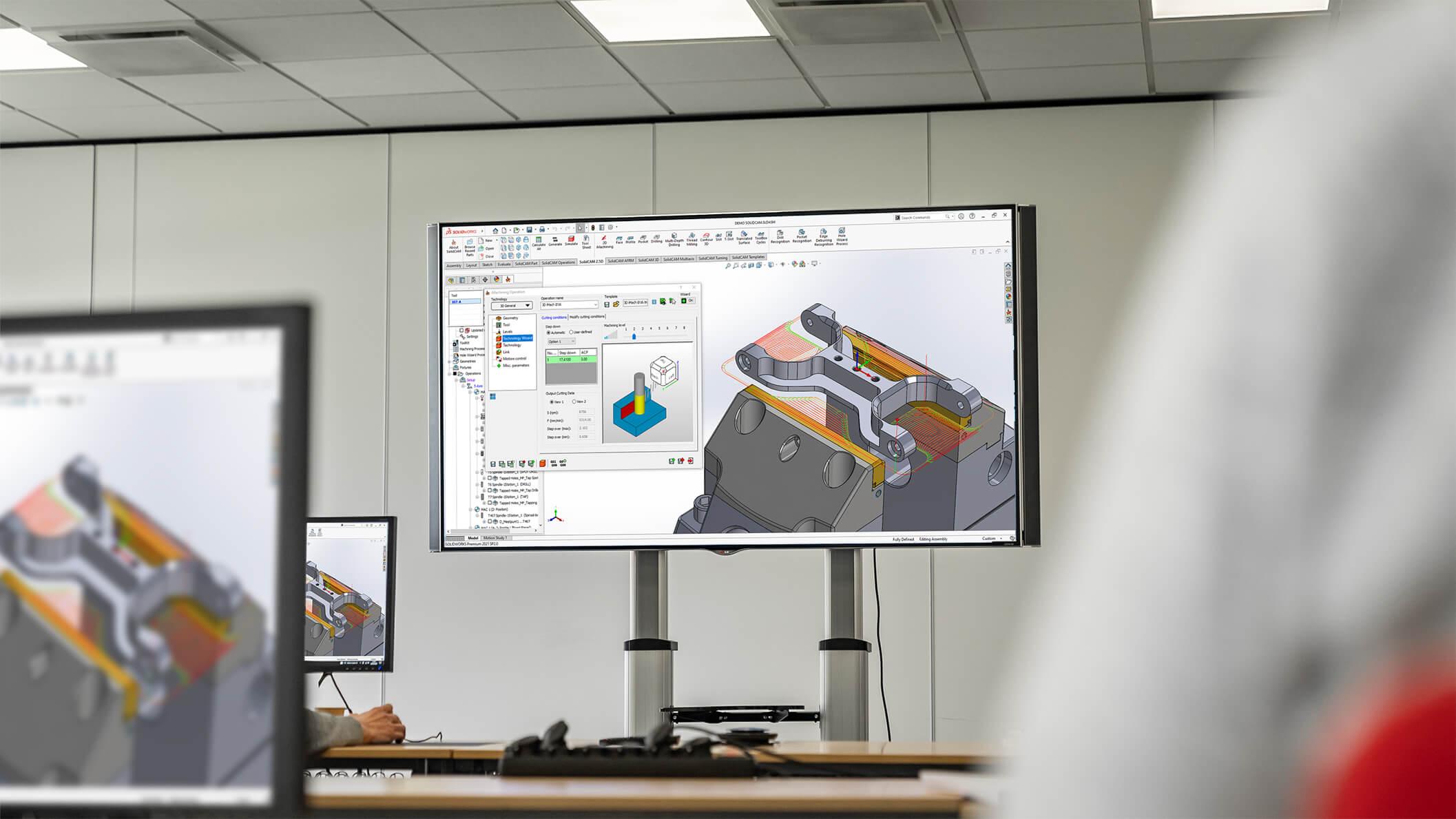 SolidCAM 2.5D Training CAD2M