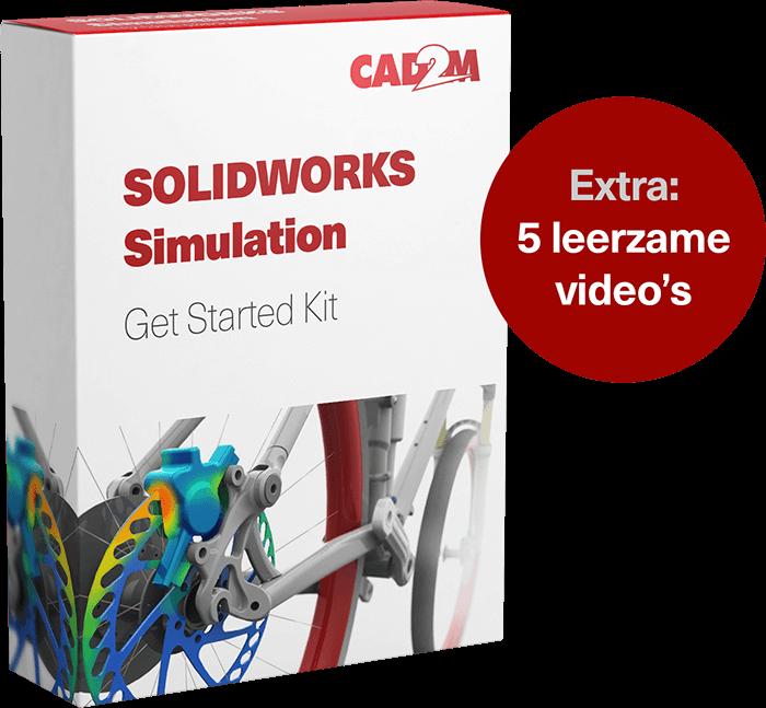 SOLIDWORKS Simulation actie