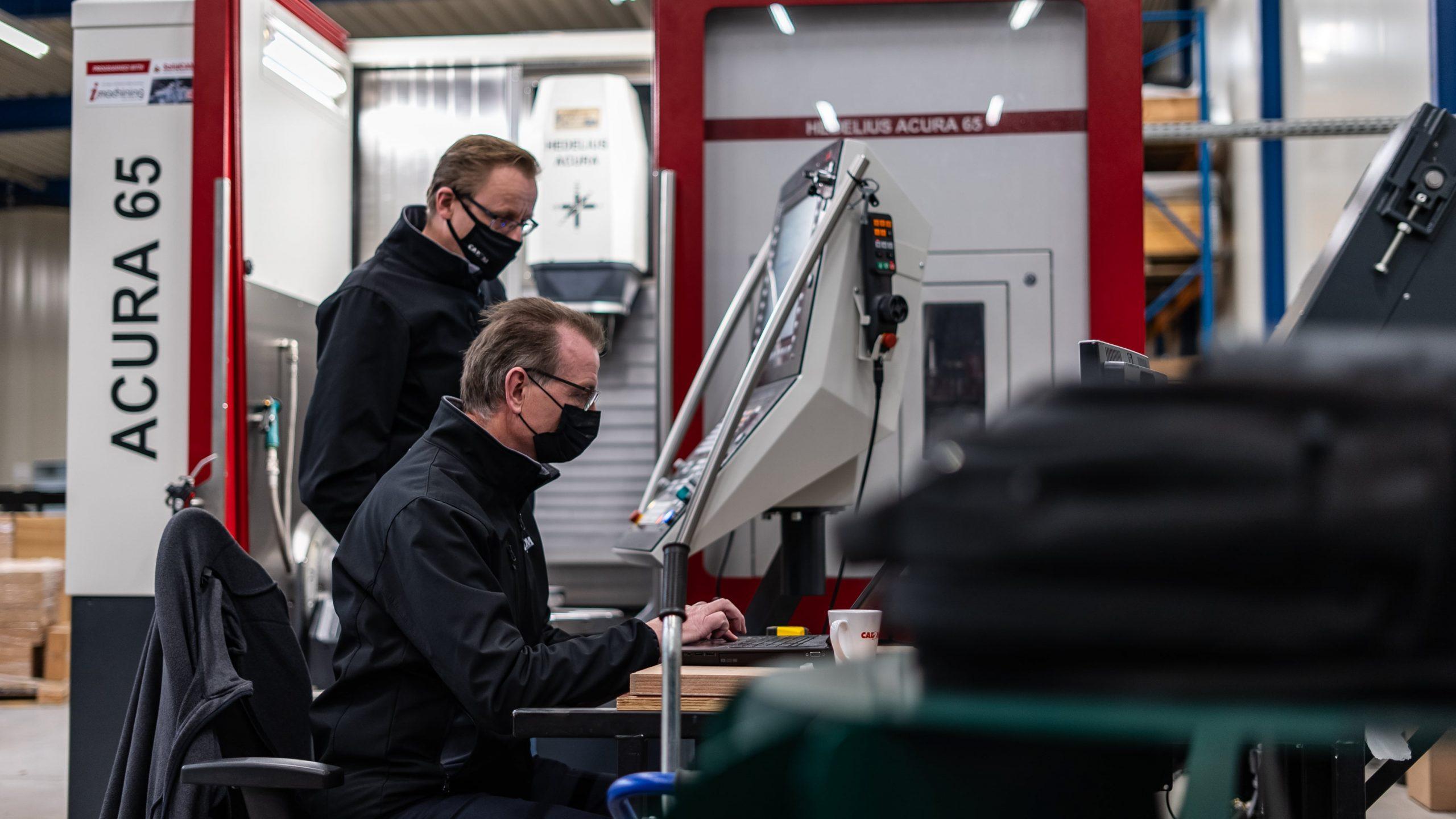 CAM Consultants Aloys en Robin bij de Hedelius Acura 65