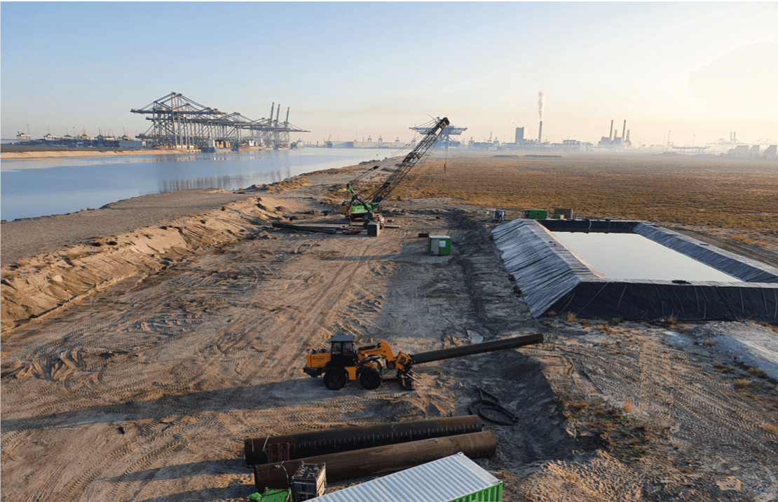GBM Works test product voor bouwen op zee