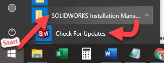 SOLIDWORKS Installation Manager Map