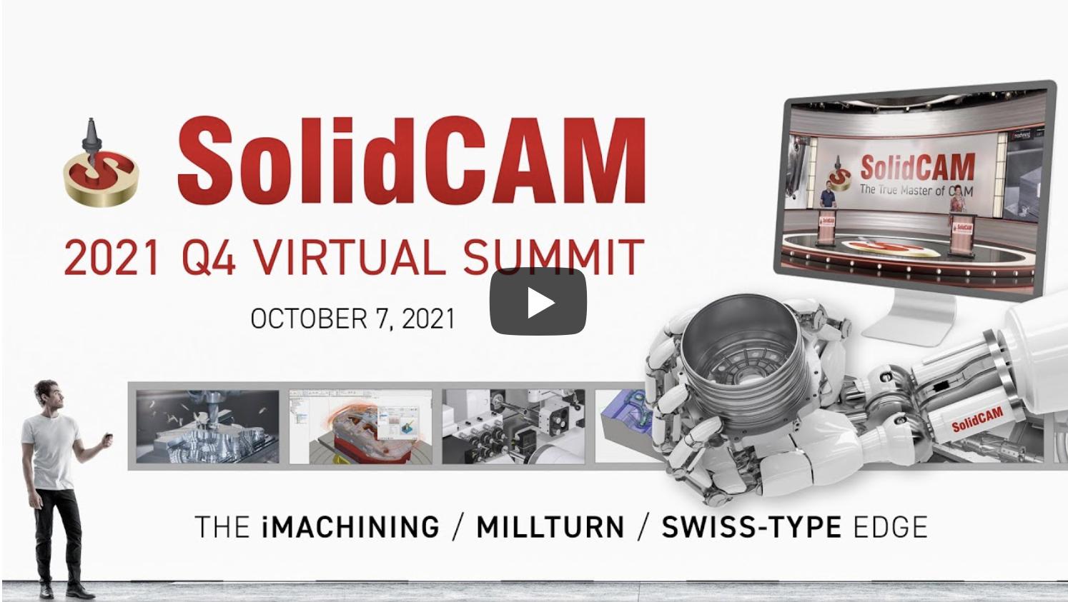 SolidCAM World 2021 online event